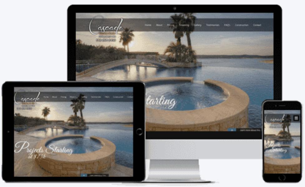 Cascade Pool Contractor Advertising