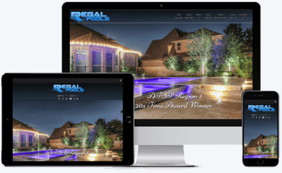 Regal Pool Contractor Marketing